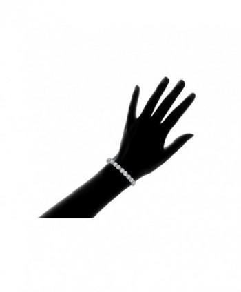 NYC Sterling Floral Design Bracelet in Women's Tennis Bracelets