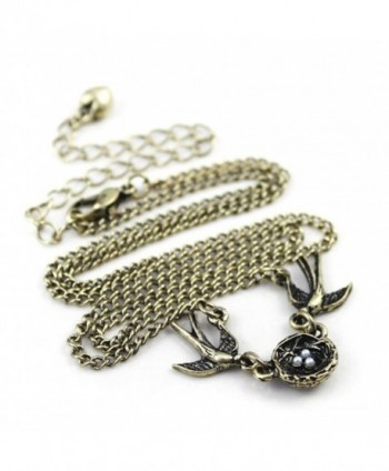 Swallows Pendant Fmaily Happiness Necklace