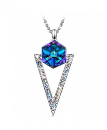 SIVERY Mothers Necklace Swarovski Crystal - CL1802H3ZW2