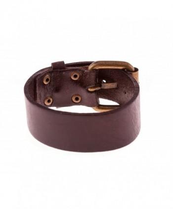 True Heart Style Bracelet Chocolate in Women's Wrap Bracelets