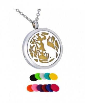 """HooAMI Aromatherapy Essential Diffuser Necklace - """"  Velvet Bag """" - CN17AZU06I5"""