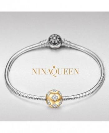 NinaQueen Sterling Bracelet Christmas Anniversary in Women's Charms & Charm Bracelets