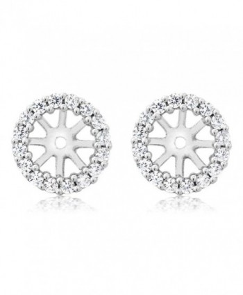 Sterling Silver Womens Earring Jackets in Women's Stud Earrings