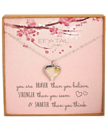 Efy Tal Jewelry Inspirational Encouragement - CX1880WYI5Q