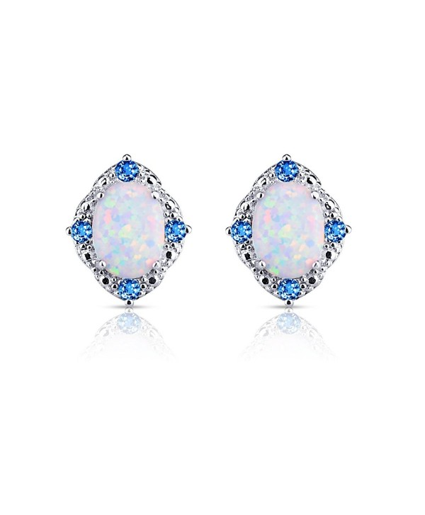 BAOAN Opal Stud Earrings For Women love - CS189TYY5OH