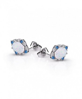 BAOAN Opal Stud Earrings Women