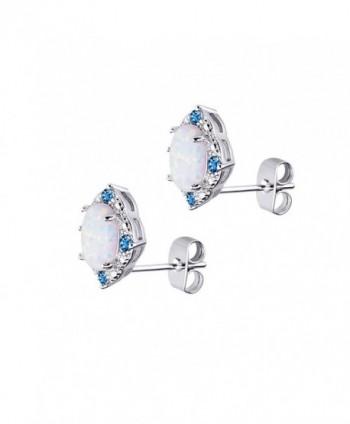 BAOAN Opal Stud Earrings Women in Women's Stud Earrings