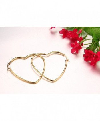 Womens Stainless Fashion Earrings Plated