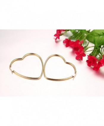 Womens Stainless Fashion Earrings Plated in Women's Hoop Earrings