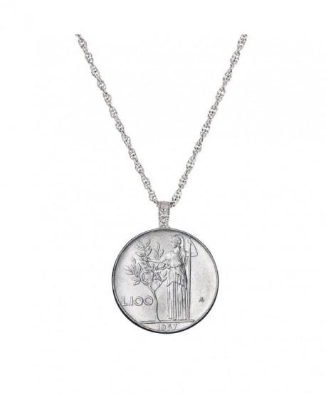 American Coin Treasures Italian Lire Coin Pendant - CW11DG503VJ