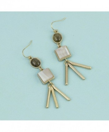 Danielle Nicole gold Delilah earring in Women's Drop & Dangle Earrings