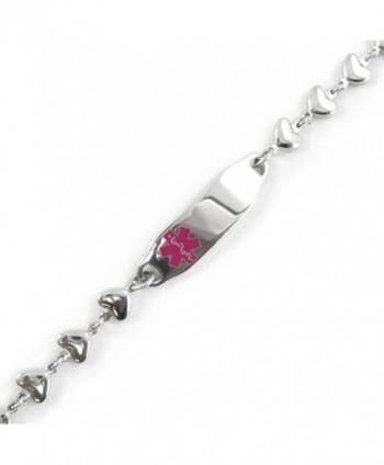 MyIDDr Pre Engraved Customized Epilepsy Bracelet in Women's ID Bracelets