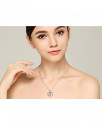 Sterling Daughter Forever Pendant Necklace