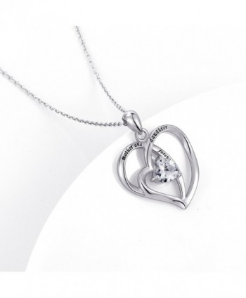 Sterling Daughter Forever Pendant Necklace in Women's Pendants