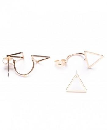 Jackets Earrings Delicate Triangle nickel