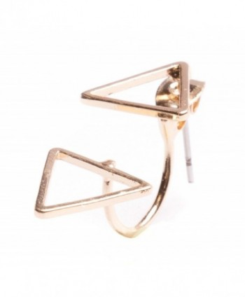 Jackets Earrings Delicate Triangle nickel in Women's Earring Jackets