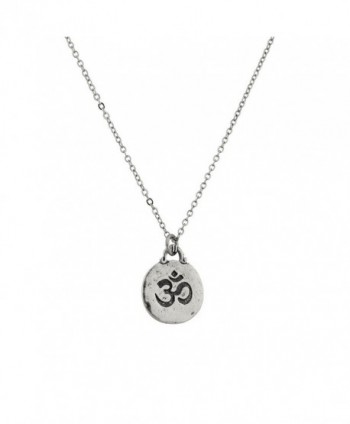 Lux Accessories Hinduism symbol Aum Om Pratima Atman Brahman Soul Self Within Pendant Necklace. - C8129GCM0GL