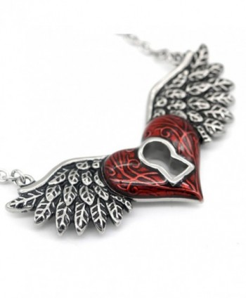 CONTROSE Angel Necklace Keyhole Stainless
