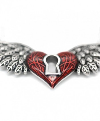 CONTROSE Angel Necklace Keyhole Stainless in Women's Pendants