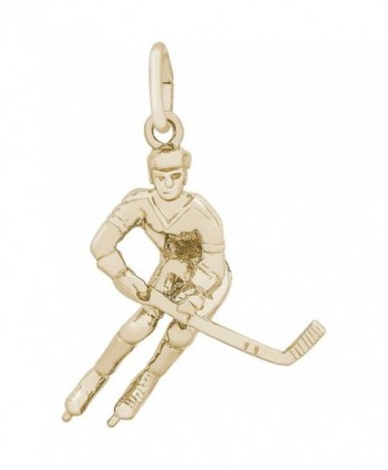 Rembrandt Charms Hockey Player Charm - CI111GJT2XH