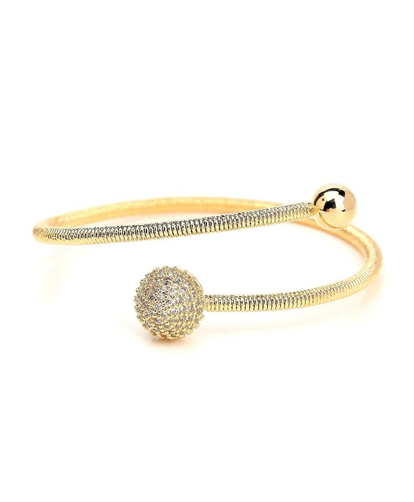 Designer Bracelet Sparkling Swarovski Crystals - C4188KEAX6G