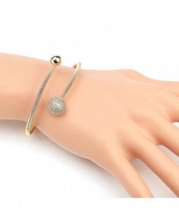 Designer Bracelet Sparkling Swarovski Crystals