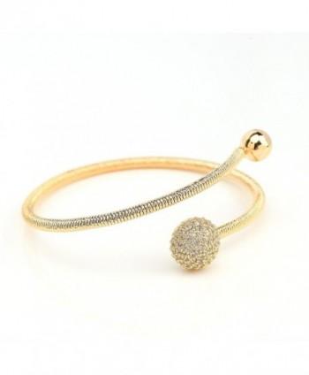 Designer Bracelet Sparkling Swarovski Crystals in Women's Bangle Bracelets