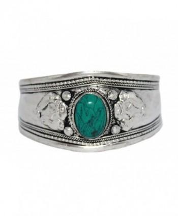 Turquoise Bracelet- Cuff Bracelet- Tibetan Bracelet- Silver Bracelet- Boho Bracelet- Gypsy Bracelet BB263 - CG12MYU9OZX