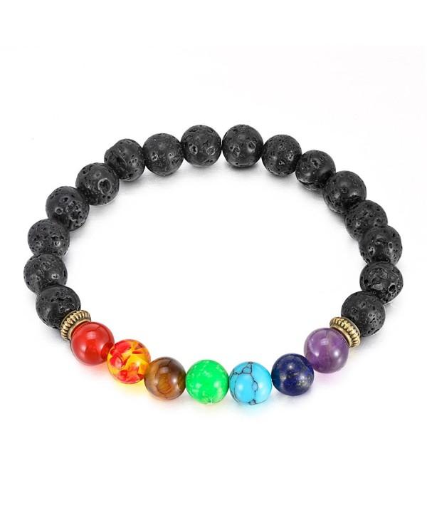 Diffuser Bracelet Crystal Balancing Gemstone - Lava Rock Stone - C2183MDE2O6