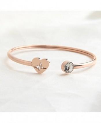 Dainty Bracelet Christmas heartbeat bracelet