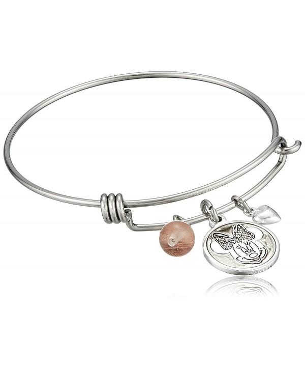 Disney Stainless Bangle Silver Bracelet - CE128JWBJVV