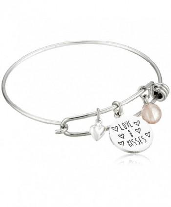 Disney Stainless Bangle Silver Bracelet