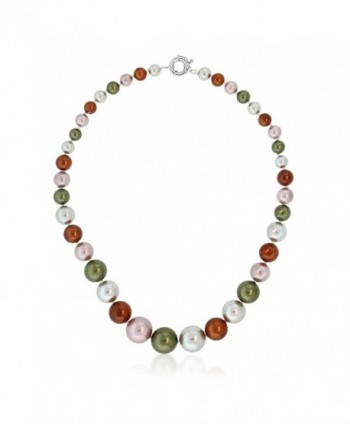 Stunning Multi Color Round Necklace