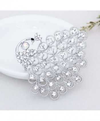 Gorgeous Bridesmaid Jewelry Crystal Silver tone