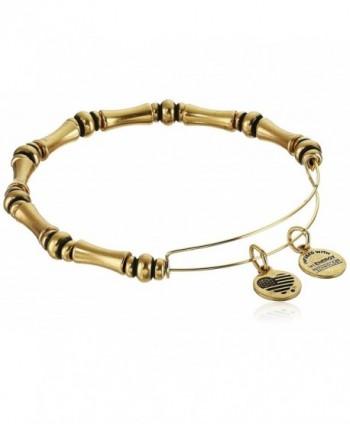 "Alex and Ani ""Bangle Bar"" Rafaelian Expandable Bracelet- 7.75"" - gold - CR114AZG4FR"