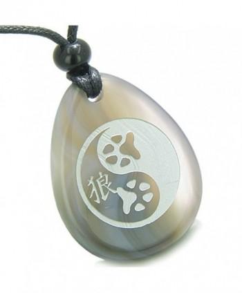 Amulet Balance Powers Pendant Necklace in Women's Pendants