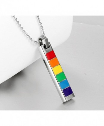 Goluss C57795ZOM106 Pride Necklace Rainbow in Women's Pendants