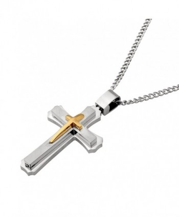 Cross Necklace Women Pendant Silver in Women's Pendants