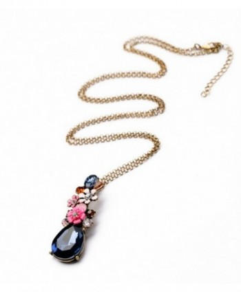 Peony T Rhinestone Multi color Gemstone water drop