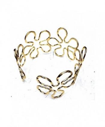 Elegant Geometric Sunflower Bracelet Armband in Women's Cuff Bracelets