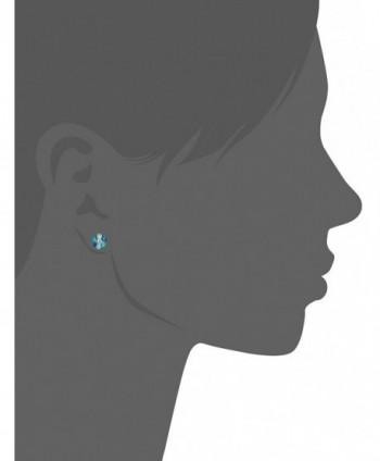 GUESS Basic Blue Stone Earrings
