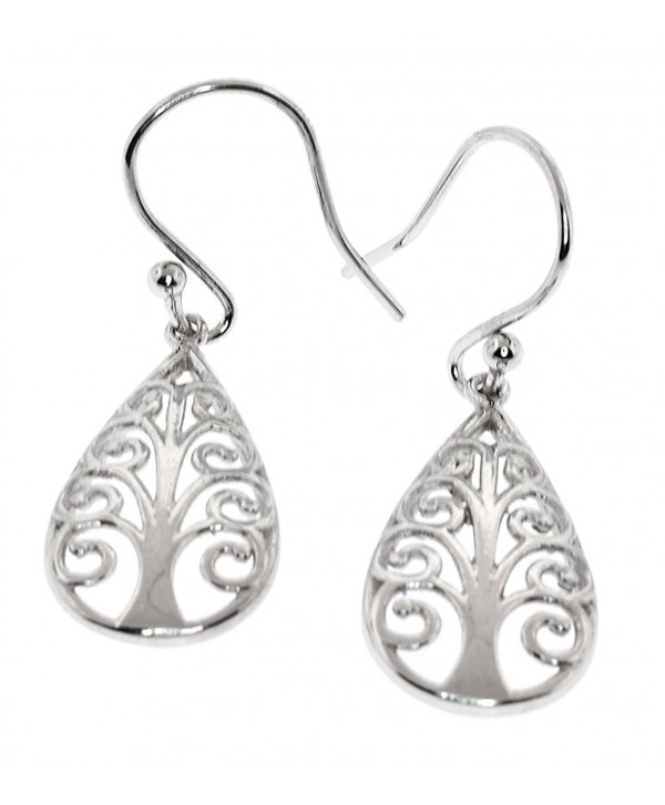 Sterling Silver Drops- Symbolic Tree of Life and More..... Earrings - C412NV8POXS