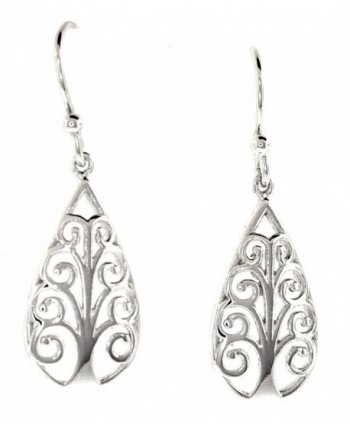 Sterling Silver Symbolic Earrings Pattern