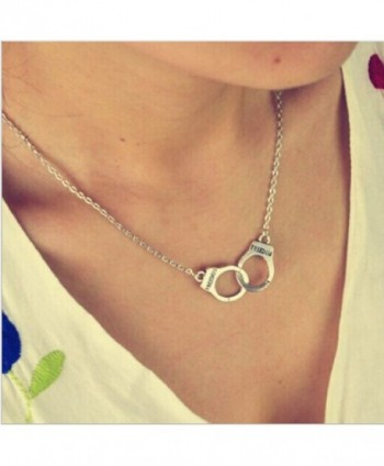 Joylive NewJewelry Handcuffs Necklace ValentineS in Women's Chain Necklaces
