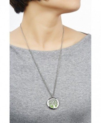 Essential Diffuser Necklace Stainless NecklaceNGG286 2