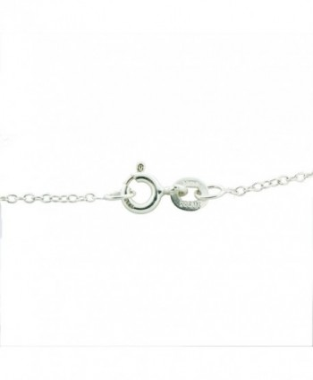 Sterling Silver 1mm Cable Chain in Women's Chain Necklaces
