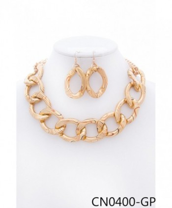CN0400 StyleNo1 FASHIONABLE NECKLACE EARRINGS