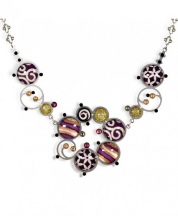 Artazia Deep Purple Necklace- Fall-Winter Collection N7406 - CR11E49Q5FJ