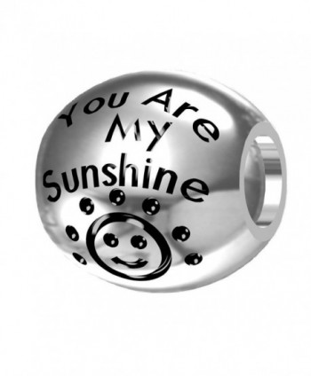 You are My Sunshine- My Only Sunshine 925 Silver Bead Fit Pandora Charms - CL12MXY6W9Z