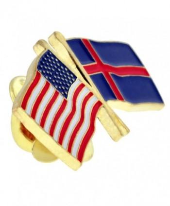 PinMarts Iceland Crossed Friendship Enamel
